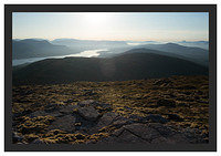 46E3708 The Blackwater Reservoir and Rannoch Moor from Beinn a' Chrulaiste
