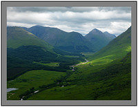 A 4965 Along Glen Etive to Buachaille Etive Mor