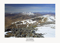 The Glen Etive Peaks from Stob Ghabhar