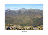 MG 2441 Ben Nevis over the central Mamores seen from Garbh Bheinn