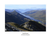 MG 2450 The Pap of Glencoe Loch Leven and a distant Ardgour from Garbh Bheinn