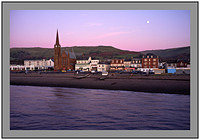 DSF0294 Sunset and moon over Largs