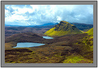 L1002767 Cleat and the Trotternish Ridge from the Quiraing Isle of Skye