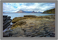 L1002875 The Black Cuillin across Loch Scavaig Isle of Skye