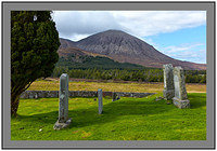 L1002962 Beinn Dearg Mhor from the ruined church of Cill Chriosd Isle of Skye