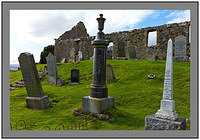 L1002967 The ruined church of Cill Chriosd Isle of Skye