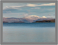 A 4506275 The mountains of Mull from Aird