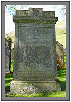 L1012195 The grave of James Hogg the Ettrick Shepherd Ettrick Kirk