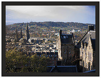 1000115 The New Town from Edinburgh Castle