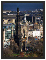 1000117 The Scott Monument from the Castle