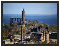 1000121 Calton Hill from the Castle