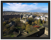 1000144 Edinburgh New Town from the Castle