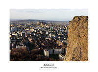 46E0249 Edinburgh from Salisbury Crags