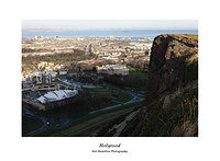 46E0254 Holyrood from Salisbury Crags